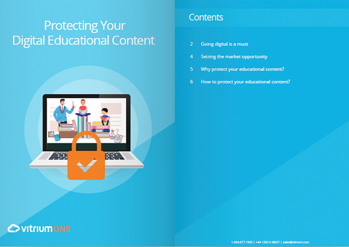 Protecting your digital educational content