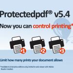 Protectedpdf print control