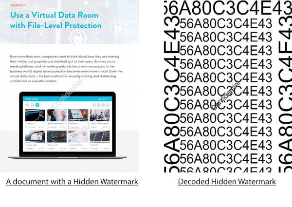 decoded hidden watermark