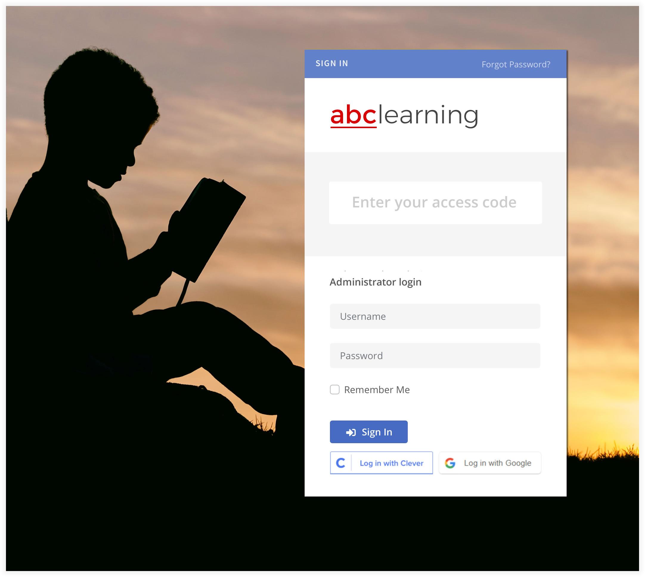 smart login for learners